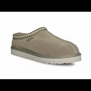 New UGG Men's Tasman Slipper Taupe Fur Suede